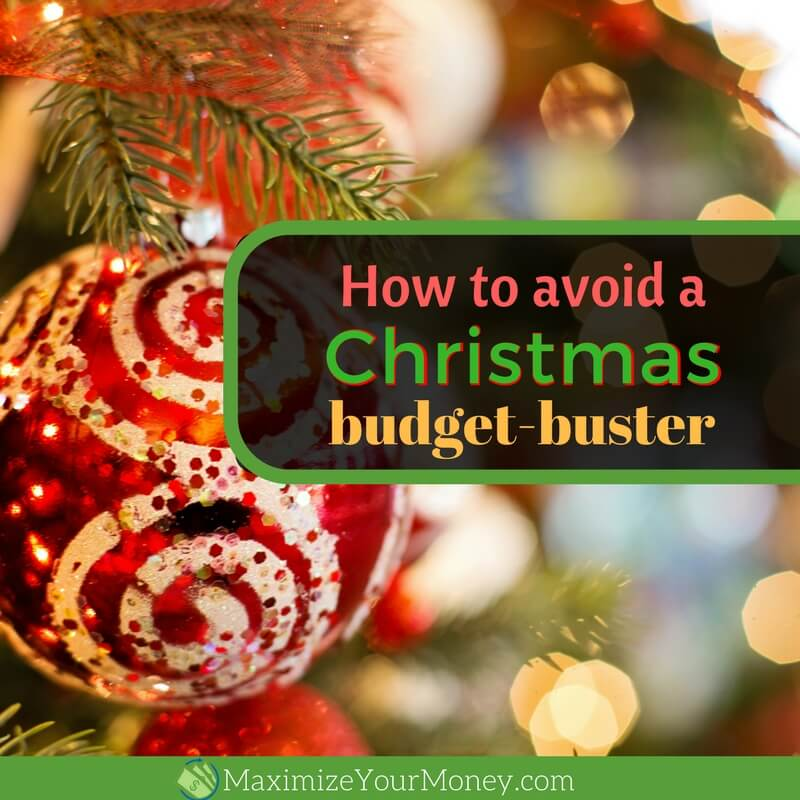 How to avoid a Christmas budget-buster