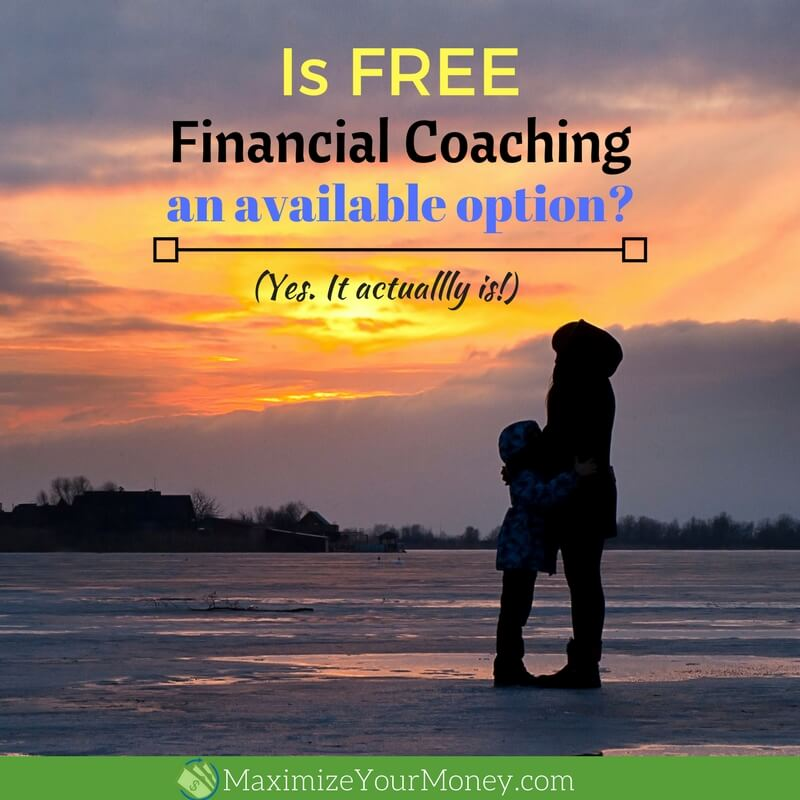 Is FREE financial coaching an option?