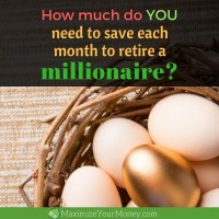 How much do you need to save to retire a millionaire? A financial coach answers.