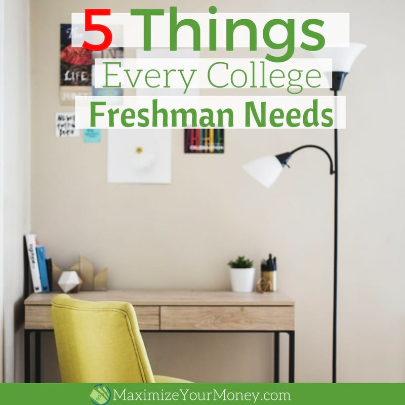 5 Things Every College Freshman Needs