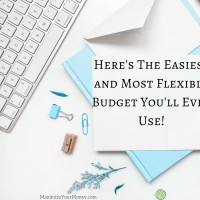 Here's The Easiest and Most Flexible Budget You'll Ever Use! 50/20/30